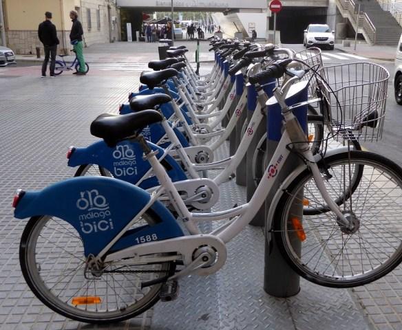 Malaga bike rentals