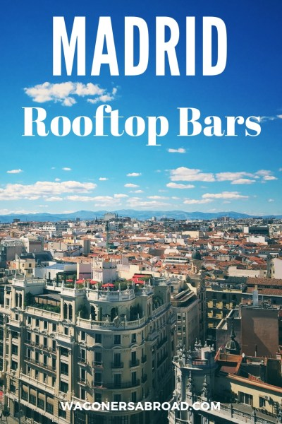 As you know Madrid is right in the center of Spain and in the summer it can get pretty hot.  One great way to cool down is to spend the day at a rooftop bar Madrid style, with a pool, food, and good friends. Read more on WagonersAbroad.com