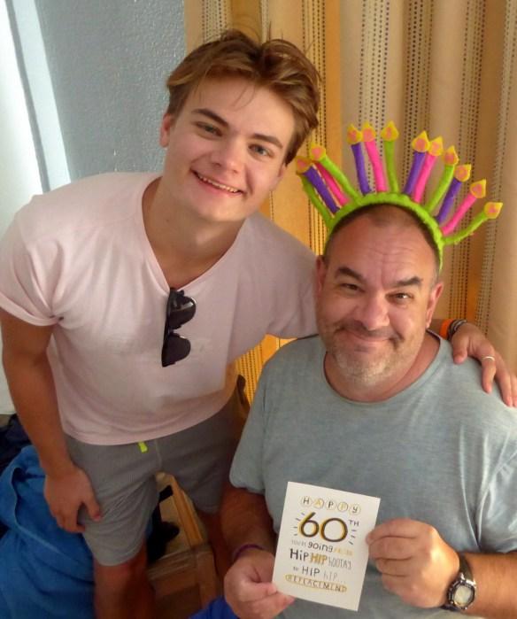 Happy Birthday Alan in Greece