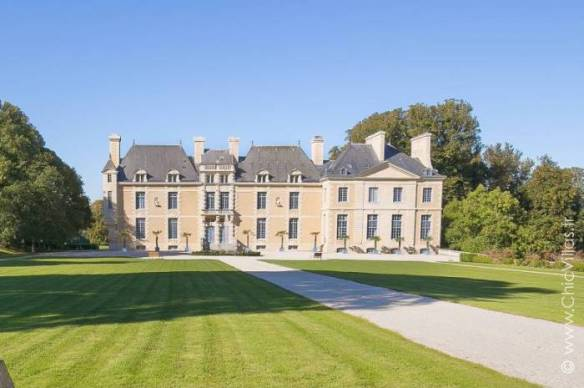 Luxury French Chateau in Normandy