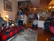 Christmas eve gift exchange at Gma Linda's