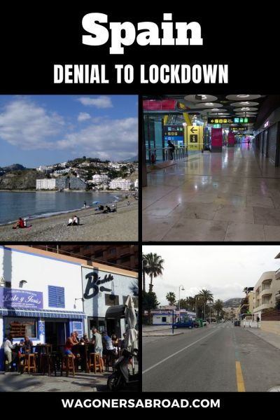 From Denial To Lockdown In Spain - our experience with the impact of the coronavirus, travel to the USA and return to Spain.