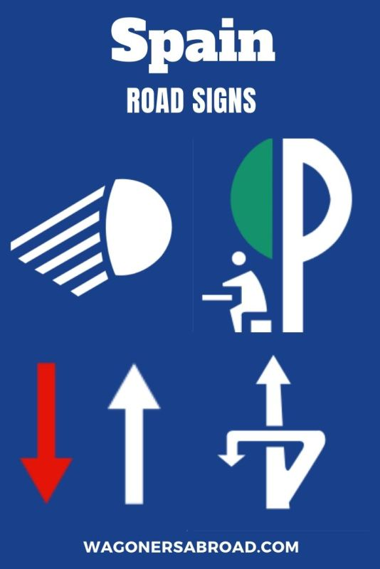This should help you with some common Spanish Road Signs Translation to English. Driving in Spain is easy and sometimes you need a little help with signs. Read more on WagonersAbroad.com