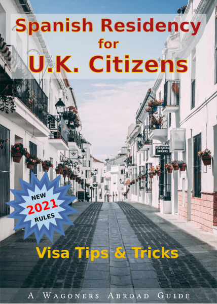 Spanish Residency for UK Citizens - Book Cover