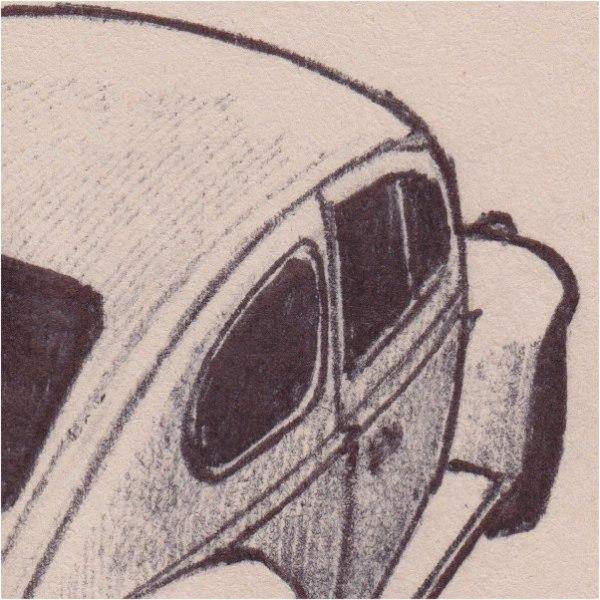 VW Beetle (detail)