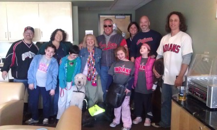 W.A.G.S. Kids at the Cleveland Indians Thanks To Bil-Jac!