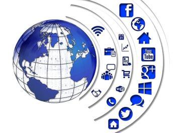 Beberapa sosial media yang bisa diakses dengan internet gratis