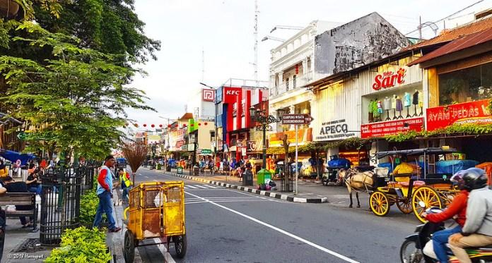 Malioboro Tempat Wisata Yogyakarta