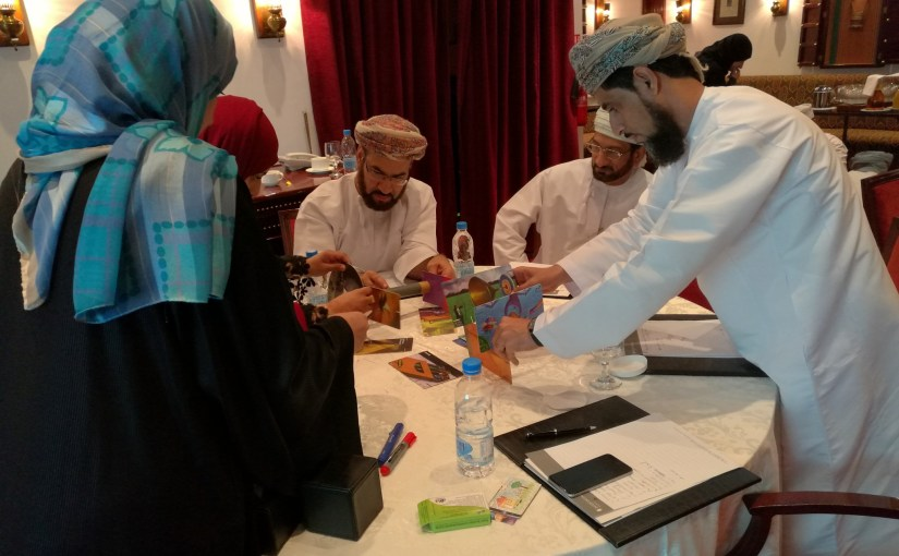 Team Building workshop, SGRF, Oman