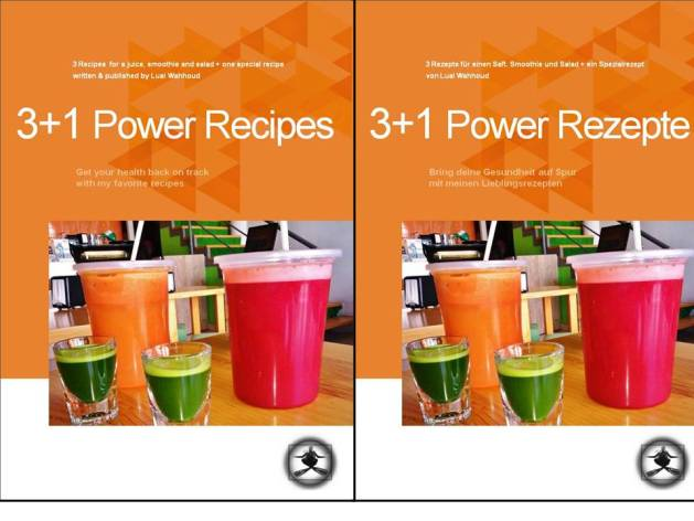 E-Book Power Recipes in german and english