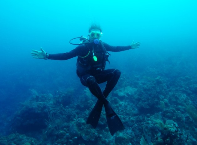 when I dive, I am in a different state of mind