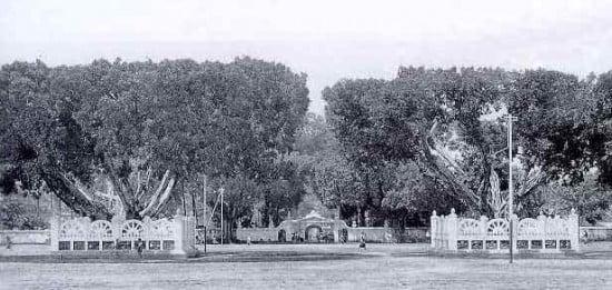 Alun Alun Kidul Yogyakarta tahun 1920