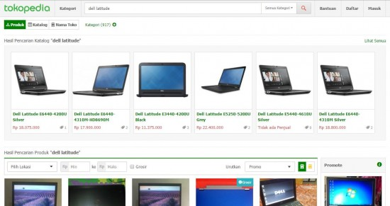 Tokopedia Display