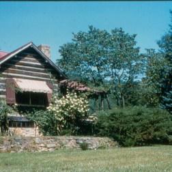 Front of lodge, circa 1950