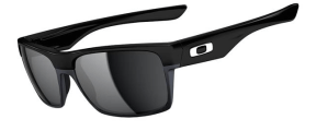 New! $250 Oakley Two Face SKU# OO9189-02 Polished Black/Black Iridium