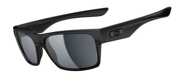 New! $250 Oakley Two Face SKU# OO9189-05 Steel/Dark Grey