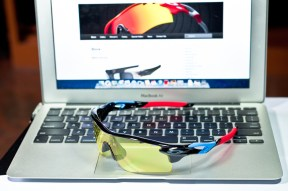 Oakley Tour de France with Yellow lens on.