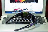 EYEPATCH® 2 SKU# OO9136-06 Color: Polished Black/Violet Iridium