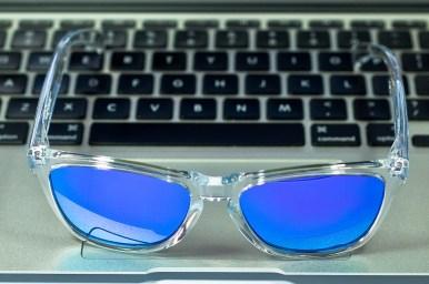FROGSKINS® SKU# 24-305 Color: Polished Clear/Violet Iridium
