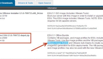 Creating VUM Friendly ESXi Images for Home Lab Supermicro Servers