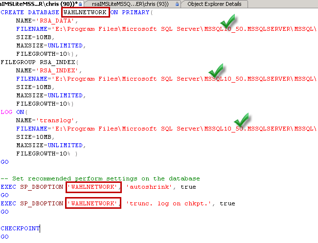 sso-sql-script
