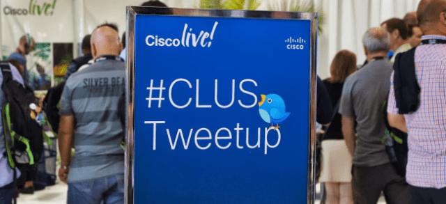 The opening night #CLUS Tweetup