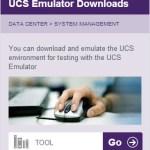 UCS PE download pane