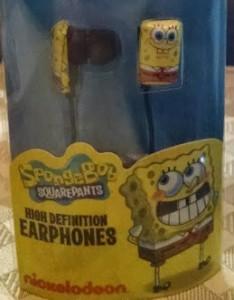 Spongebob Earphones