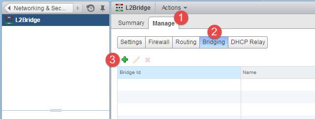 Bridge ID Setup