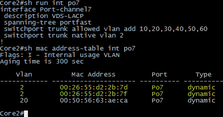 LLDP is now using VLAN 2