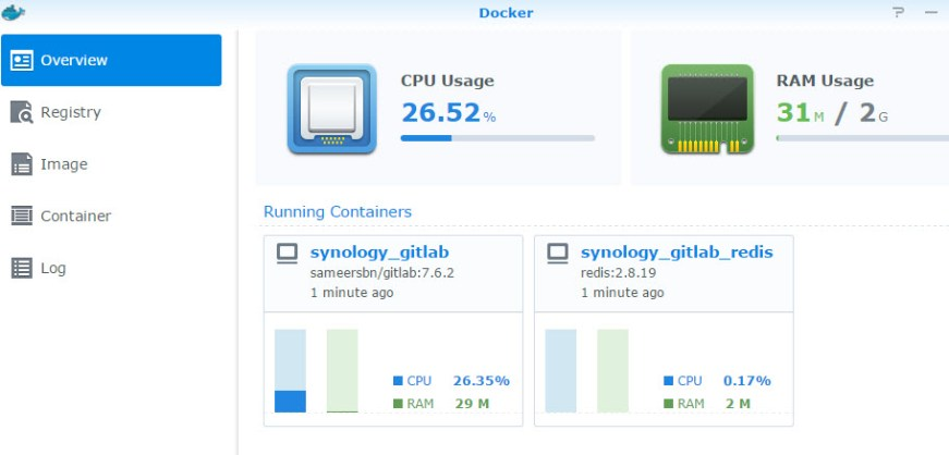 docker-in-synology