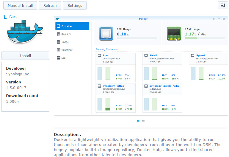 Running GitLab and Jenkins Containers on Docker in Synology DSM 5 2