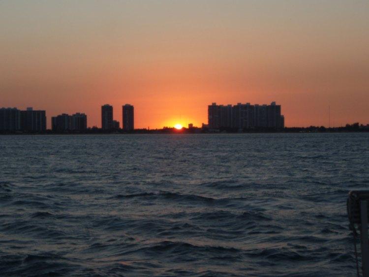 Miami Beach at Sunset