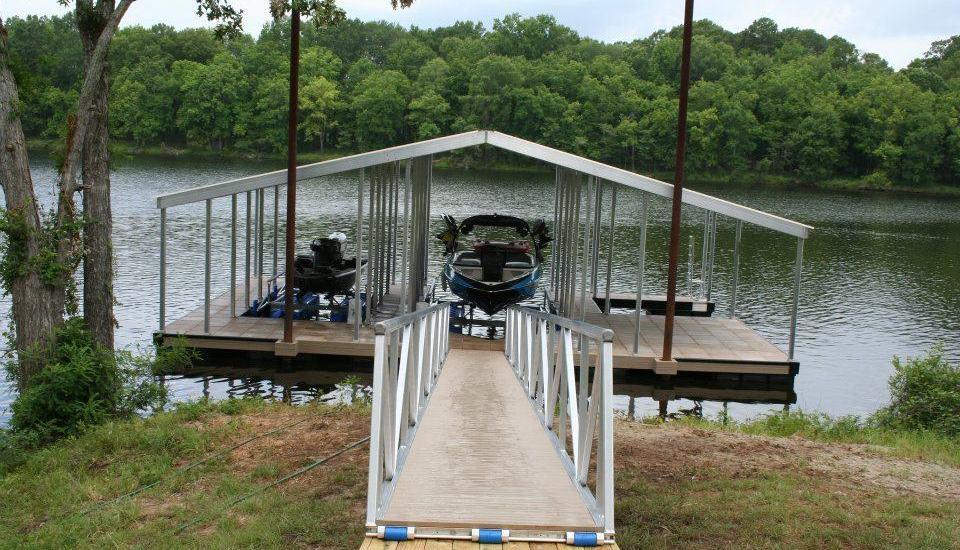 3-Slip Floating Aluminum Boat Docks!!