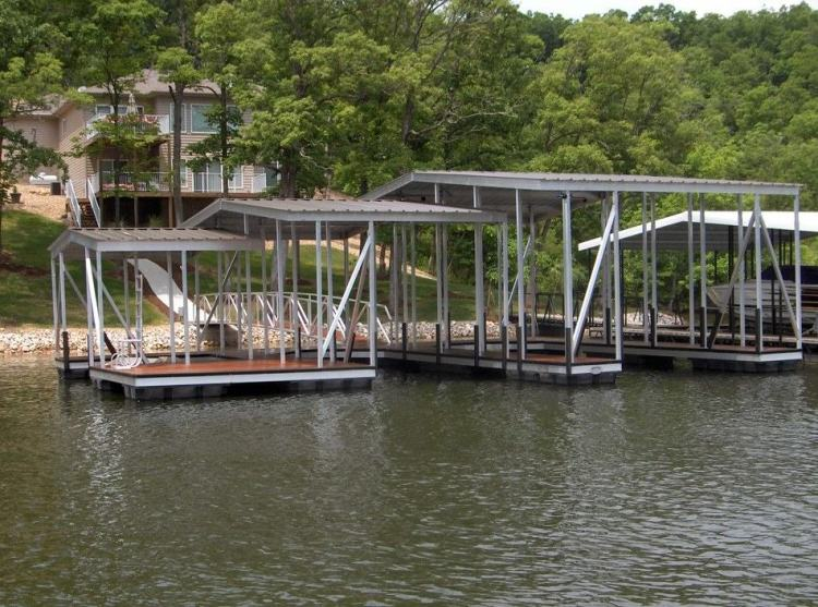 wahoo aluminum docks commercial community docks with dock ladder and gangway