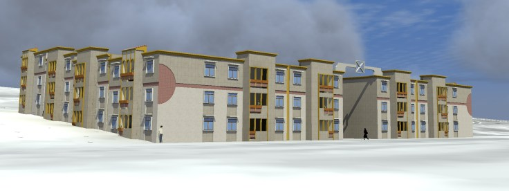Social Housing Project (100 Units)