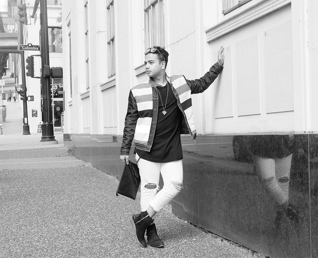 Jonathan Waiching Ho_Levis Denim Jacekt_Top Bloggers Canada_Influencer in Vancouver_7