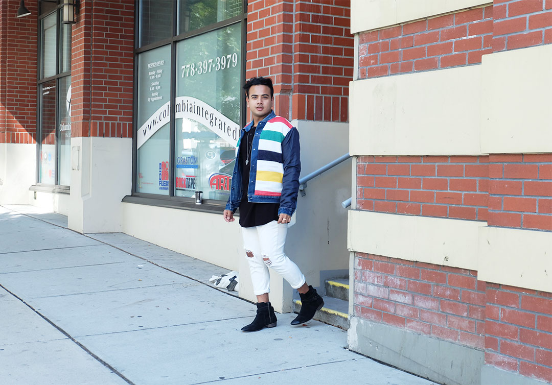Jonathan Waiching Ho_Levis Denim Jacekt_Top Bloggers Canada_Influencer in Vancouver_9
