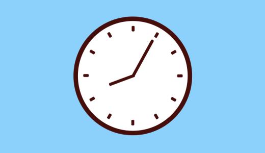 アナログ時計の針アニメーション作ってみた【Aftereffectsチュートリアル】