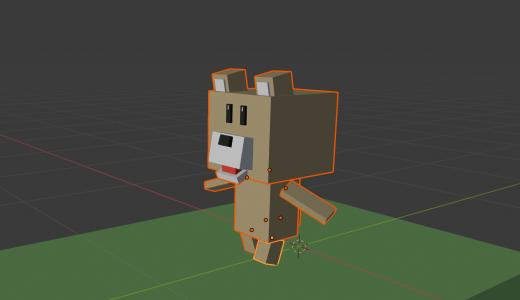 【Blender2.8】歩行アニメーションについて