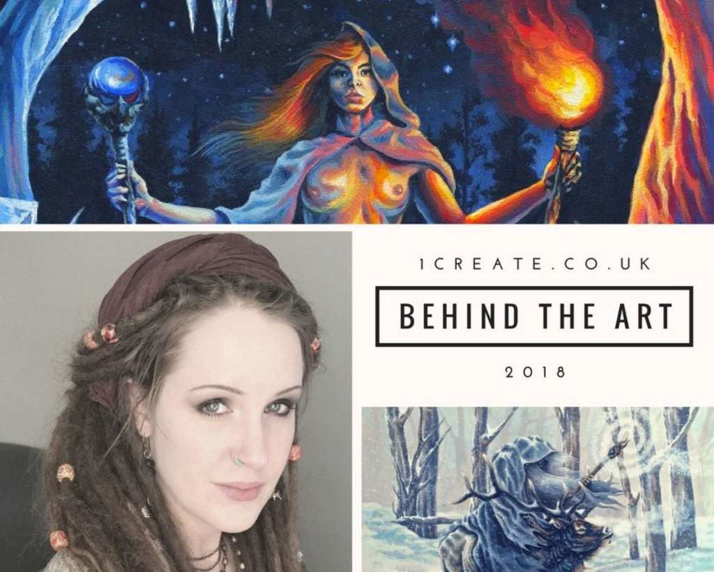 1create.co.uk Interview with Rebecca Magar - Wailing Wizard