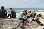 Workshop on St Ives Beach