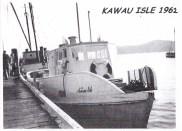 KAWAU ISLE MANSION HOUSE BAY WHARF 1962