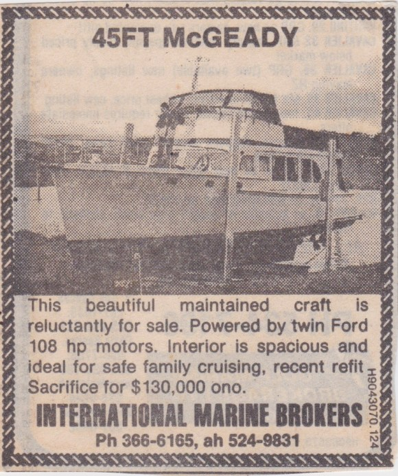 AUSTRALIS - newspaper clipping