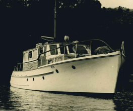 MAHARATIA -2 - 1954 now ANITA BAY IV Builder Roy Lidgard - 3