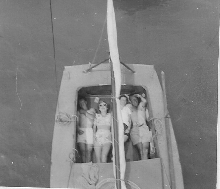 Sardines in a mullety. Judith & friends, Auckland