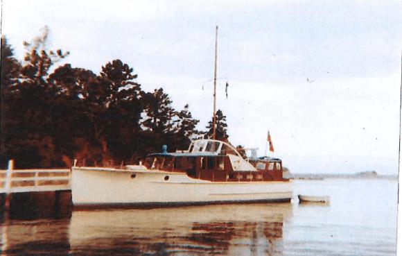 c.1969 - Mansion House Wharf. Owner Ken Burroughs