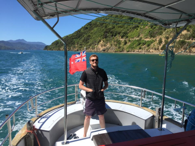 WAIRANGI- THE JOURNEY NORTH - PICTON TO AUCKLAND- PT. 1- ON HER WAY -1