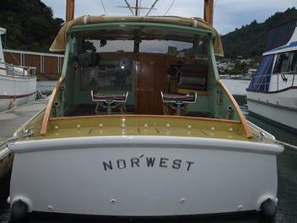 NOR WEST (I) BY G LANE - 1951 - STERN
