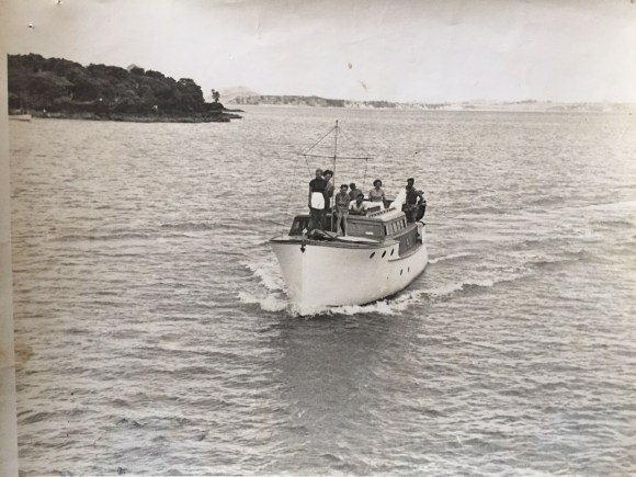 Drunken Bay, Rangitoto - 1938